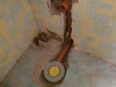 подмяна на канал в баня 1
