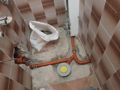 подмяна на канал в баня 2