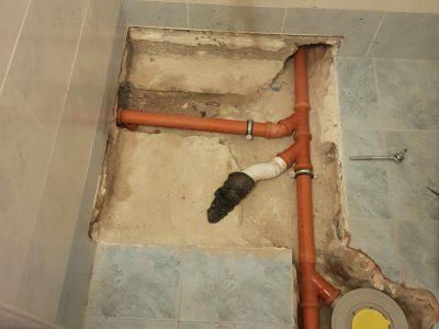 подмяна на канал в баня 4